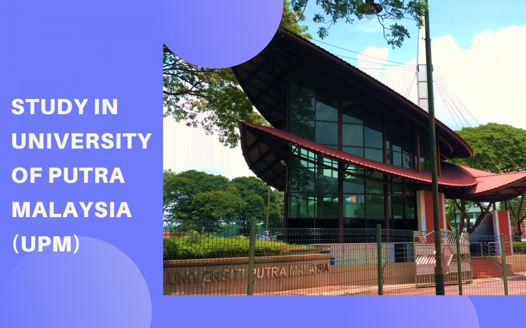 University of Putra Malaysia or UPM is a leading public university located in central Malaysia, close to the capital city, Kuala Lumpur.