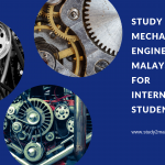 Study Mechanical Engineering In Malaysia For International Student In 2019